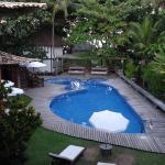 piscine vue depuis la chambre