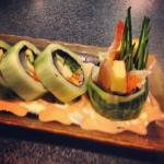 Cucumber Salad Roll