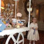 Flower Girl enjoying some treats Miss Emily Mc Nally