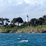vue de Port-Navalo de la mer