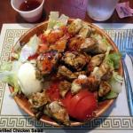 Large Grilled Chicken Salad