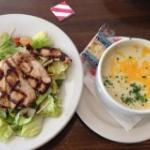 Grilled Chicken and Soup Combo