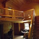 Inside the cabin again