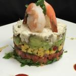 Florida's Fresh Avacado Crab Tower