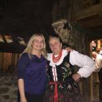 Z ciotką Bronką :)