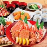 Full of crabs course (with all-you-can-drink) 7, 000 yen (tax-included)