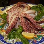 Pulpo (Mediterranean Octopus salad)