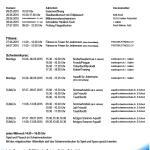 Saison 2015 Aktivitäten