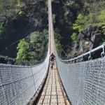 Ponte Tibetano Valle di Sementina