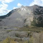Actual mountain where Frank Slide occurred.