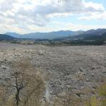 From Frank Slide looking east.