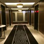 Corridors are wide and luxurious, as are the rooms