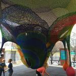 Kaleidoscape - children explore the inside!
