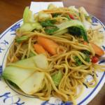 The vegetable noodles
