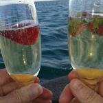 Bubbly on board