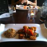Gamba's in chili zijn klasse en duidelijk beter dan die ik in alle sushi restaurants in Ehv heb