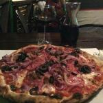 A wonderful rustic pizza