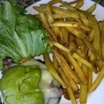 Swiss Guacamole Burger