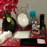 The Freshen-up table