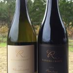 Beautiful Autumn colours and our new release Pinotage and Chardonnay. Both exceptional wines, ma
