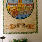 Cordoban poster in lobby