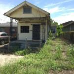 Example of shotgun house that needs work