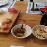 Small sushi plate - taka 1.000