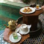 Thé de bienvenue (Welcoming tea)