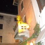 Hotel locality, by night