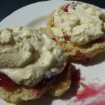 More than enough cream and jam!