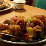 Chicken fried rice, Szechwan chicken