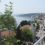5. kat balkonundan