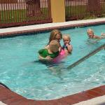 Pool with the kids