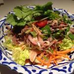 Salade de bœuf grillé