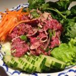 Salade de bœuf haché