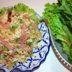Salade de riz croquant