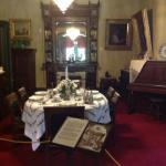 Beautifully displayed dining room
