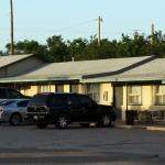 Located at the intersection of Highways 380 & 54 is the Chaparral Motel