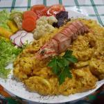 Risoto de Frutos do Mar - Pousada e Restaurante Orquídeas