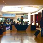 The lobby and through to bar at Park Plaza Hotel Victoria