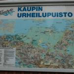 Kauppi outdoor area