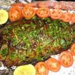 Fish baked