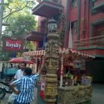 Paan shop outside