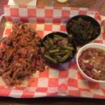 Great sides with 1/2 lb of pork. Totally yummy