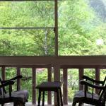 お部屋からの眺めは自然がいっぱい