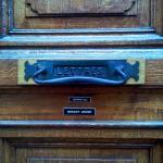 Front Door facing Rue des Compagnons