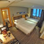 Double bed and Single bed configuration on level 7