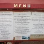 The fixed menu prices start at 17 Euros