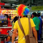 A clown of a salesman