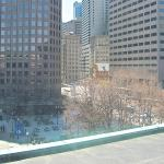 View from 638, standard king. Faneuil Hall to left, HVAC to right, out of photo view.